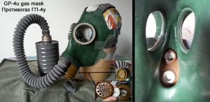 GP-4u gas mask overall view by DrJorus