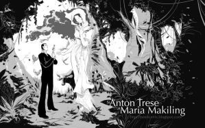 Anton Trese at Maria Makiling by Budjette