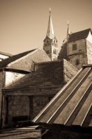 Roofs of Bamberg by Quit007