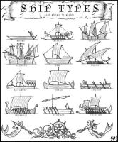 Ship Types by artikid