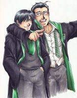 FMA- The Slytherin Boys by Hikaru9