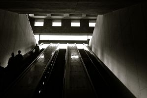 The Escalators To Heaven by Serenity0418