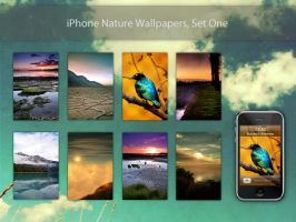 iPhone Nature Wallpapers by leebrook