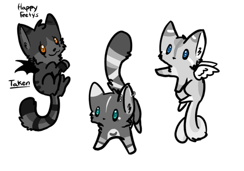 Kitten Adopts by hedgian91