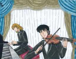The Pianist and the Violinist by Lily-de-Wakabayashi