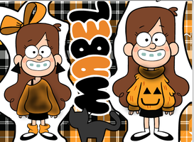 Mable Halloween Sweaters by PinkieDashieFlutters