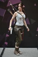 Lara Croft cosplay - WeGame 5 by TanyaCroft