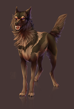 Wolf commission by Mr-SKID