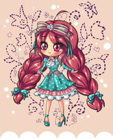 Tea Party Girl Adoptable (SOLD) by Candy-DanteL