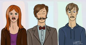 Mustaches are Definitely Cool by Mad-Hattie