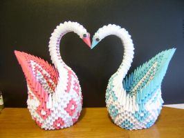 2 swans by juls2