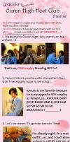 Ouran meme done with love by M00-chan