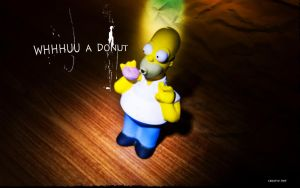 Homer Simpson by MeR8now