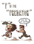 P Is For Predator by OtisFrampton