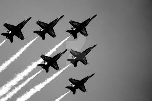 Blue Angels by mysoulvacation