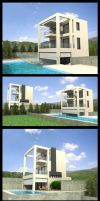 Sivota Buildings by voodoq