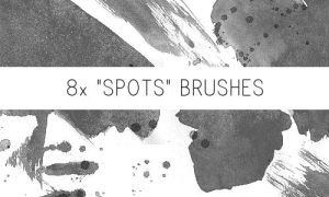 Spots Brushes by PinkMai