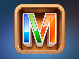 Mixel iPhone app icon by Ramotion
