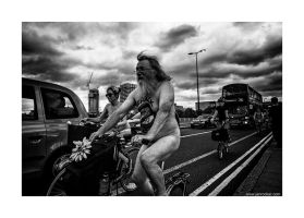 World Naked Bike Ride 24 by lightdrafter