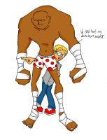 Big Guy and nerd color version by beto