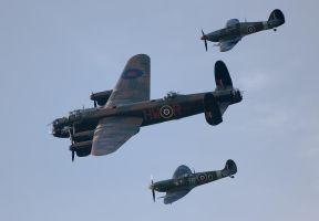 The Battle Of Britain Flight by dazecoop