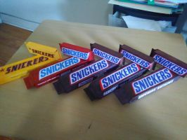 Too many SNICKERS? by Namco-NintendoFan-88