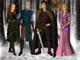 The Big Four - Game of Thrones by evenstar29