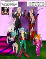 Final Fantasy Family Moment 01 by vick330