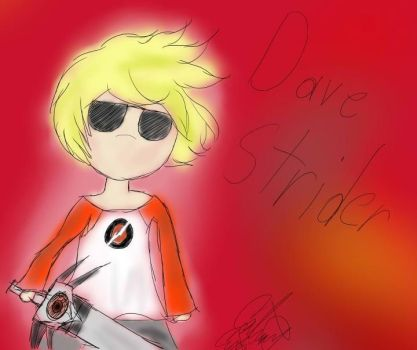 HS: Chibi Dave Strider by Coco-Apple