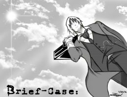 Brief Case. Cover Page by Kira09kj
