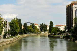 Vienna - the river 1 by wildplaces