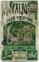 Kaiju Cage Fighting by kenfreelance