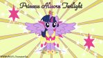 Princess Alicorn Twilight by FlutterDash75