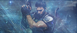 Signature Chris Redfield by SuperBrioche