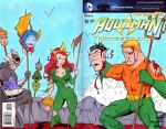 Aquaman Sketch Cover Commission. by THEjesusmarquez