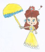 Classic Daisy's Summer dress by PrincessDaisyRocks10