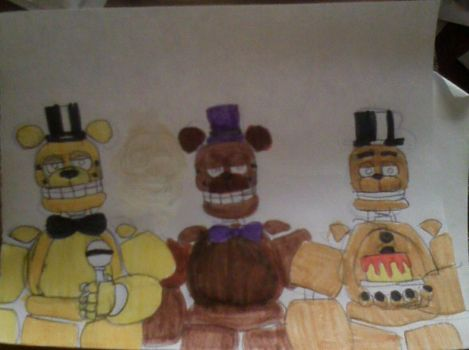 Spring Freddy Designs by FreddleFrooby