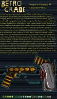 Retrograde Weapon/Gadgets: #5 by shadefalcon