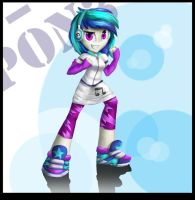 Vinyl scratch! by Aschenstern
