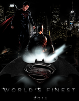 WORLD'S FINEST - SDCC13 TEASER POSTER III by MrSteiners