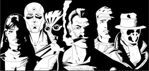 The Watchmen by UberDre