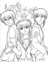 Fruits Basket: The Trio by Danni-Stone