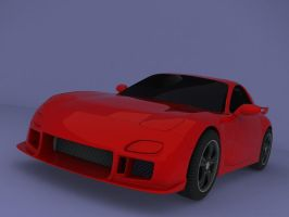 Mazda RX-7 3rd Generation by Legacy-Of-Phoenix