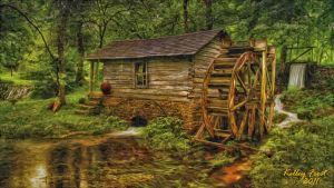 Water Mill by whendt