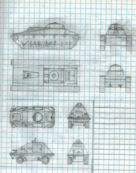 Two tanks on one page by Sir-Well-Borne