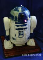 R2D2 Cake by cake-engineering