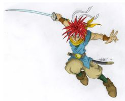 Crono sketchness - colored by Deezer509