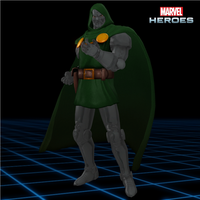 Marvel Heroes - Doctor Doom **Updated** by CaxUchiha