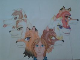 100th Deviation! Me And My Characters. by FabianWiegers