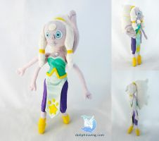 Steven Universe Opal Plush Doll by dollphinwing